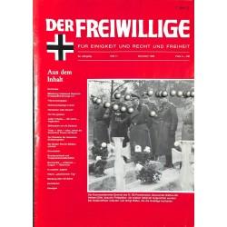 m2007/112 No. 11-1986 DER FREIWILLIGE - Waffen-SS veteran magazine -