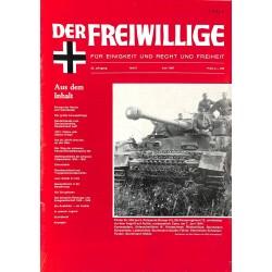 m2007/114 No. 6-1987 DER FREIWILLIGE - Waffen-SS veteran magazine -