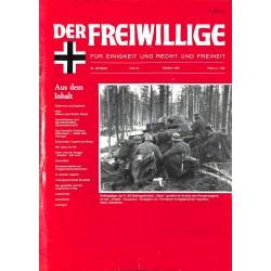 m2007/117 No. 10-1987 DER FREIWILLIGE - Waffen-SS veteran magazine -