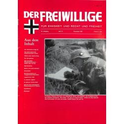 m2007/119 No. 12-1987 DER FREIWILLIGE - Waffen-SS veteran magazine -