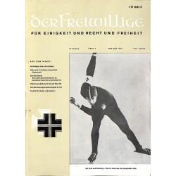 m2007/12 No. 1-1972 DER FREIWILLIGE - Waffen-SS veteran magazine -