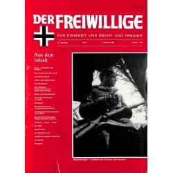 m2007/120 No. 1-1988 DER FREIWILLIGE - Waffen-SS veteran magazine -