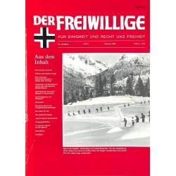 m2007/121 No. 2-1988 DER FREIWILLIGE - Waffen-SS veteran magazine -