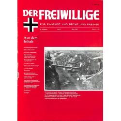 m2007/122 No. 3-1988 DER FREIWILLIGE - Waffen-SS veteran magazine -