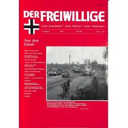 m2007/123 No. 4-1988 DER FREIWILLIGE - Waffen-SS veteran magazine -