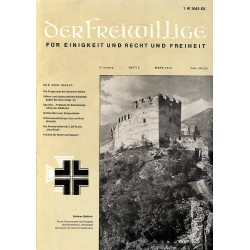 m2007/13 No. 3-1972 DER FREIWILLIGE - Waffen-SS veteran magazine -