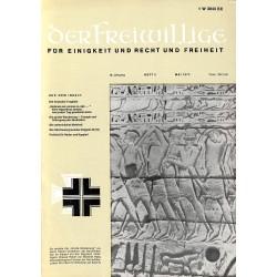 m2007/14 No. 5-1972 DER FREIWILLIGE - Waffen-SS veteran magazine -