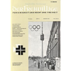 m2007/15 No. 8-1972 DER FREIWILLIGE - Waffen-SS veteran magazine -