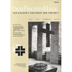 m2007/16 No. 11-1972 DER FREIWILLIGE - Waffen-SS veteran magazine -
