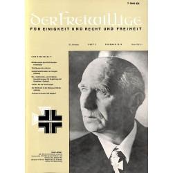 m2007/18 No. 2-1974 DER FREIWILLIGE - Waffen-SS veteran magazine -