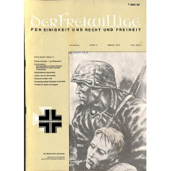 m2007/19 No. 3-1974 DER FREIWILLIGE - Waffen-SS veteran magazine -