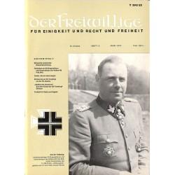 m2007/23 No. 6-1974 DER FREIWILLIGE - Waffen-SS veteran magazine -