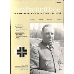 m2007/24 No. 6-1974 DER FREIWILLIGE - Waffen-SS veteran magazine -