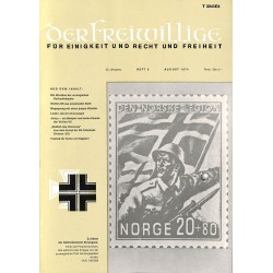 m2007/26 No. 8-1974 DER FREIWILLIGE - Waffen-SS veteran magazine -