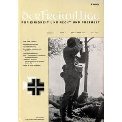 m2007/27 No. 9-1974 DER FREIWILLIGE - Waffen-SS veteran magazine -
