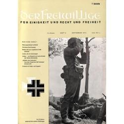 m2007/28 No. 9-1974 DER FREIWILLIGE - Waffen-SS veteran magazine -