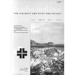 m2007/3 No. 3-1967 DER FREIWILLIGE - Waffen-SS veteran magazine -