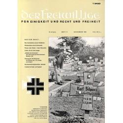m2007/31 No. 11-1974 DER FREIWILLIGE - Waffen-SS veteran magazine -