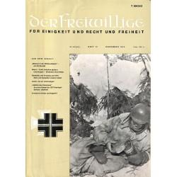 m2007/32 No. 12-1974 DER FREIWILLIGE - Waffen-SS veteran magazine -