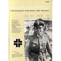 m2007/34 No. 2-1975 DER FREIWILLIGE - Waffen-SS veteran magazine -