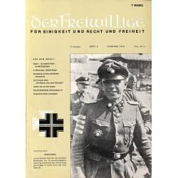 m2007/35 No. 2-1975 DER FREIWILLIGE - Waffen-SS veteran magazine -