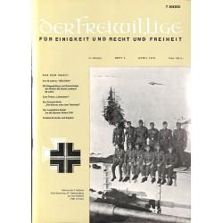 m2007/38 No. 4-1975 DER FREIWILLIGE - Waffen-SS veteran magazine -