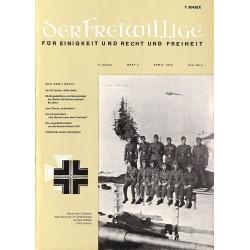m2007/39 No. 4-1975 DER FREIWILLIGE - Waffen-SS veteran magazine -