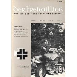 m2007/4 No. 4-1967 DER FREIWILLIGE - Waffen-SS veteran magazine -