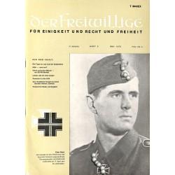 m2007/40 No. 5-1975 DER FREIWILLIGE - Waffen-SS veteran magazine -