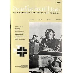 m2007/42 No. 6-1975 DER FREIWILLIGE - Waffen-SS veteran magazine -