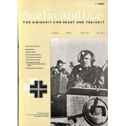 m2007/43 No. 6-1975 DER FREIWILLIGE - Waffen-SS veteran magazine -