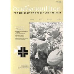 m2007/44 No. 7-1975 DER FREIWILLIGE - Waffen-SS veteran magazine -