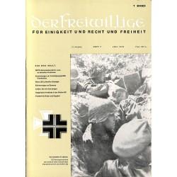 m2007/45 No. 7-1975 DER FREIWILLIGE - Waffen-SS veteran magazine -