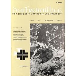 m2007/48 No. 9-1975 DER FREIWILLIGE - Waffen-SS veteran magazine -