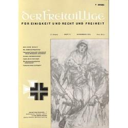 m2007/49 No. 11-1975 DER FREIWILLIGE - Waffen-SS veteran magazine -