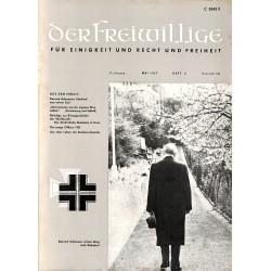 m2007/5 No. 5-1967 DER FREIWILLIGE - Waffen-SS veteran magazine -