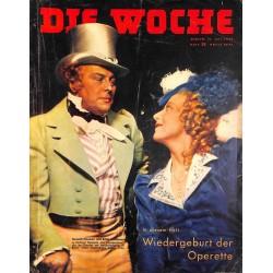 2599 DIE WOCHE-No.28-1939 WWII magazine - bulgarian Chief  Kjosseiwanoof, Palastine, Franco Spain