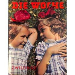 2602 DIE WOCHE-No.33-1939 WWII magazine - Hühnlein, twins, Katsuko Japan, east italian Africa