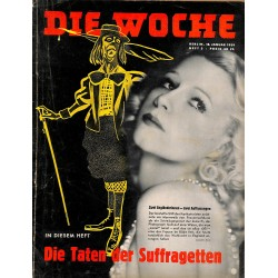 2604	 DIE WOCHE	-No.	3-1939		 WWII magazine - 	New Year reception in Reich Chancellry	, 42 pages,