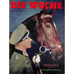 2605	 DIE WOCHE	-No.	4-1939		 WWII magazine - 	war orphange, sports Franco Spain