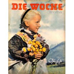 2609 DIE WOCHE-No.14-1939 WWII magazine - OktoberfestFranco Spain Mussolini Italy,