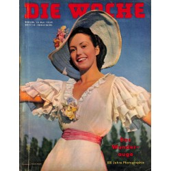 2610	 DIE WOCHE	-No.	19-1939		 WWII magazine - 	photographie 100th anniversary