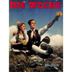 2611	 DIE WOCHE	-No.	21-1939		 WWII magazine - 	Pfingstfest Romania National Da