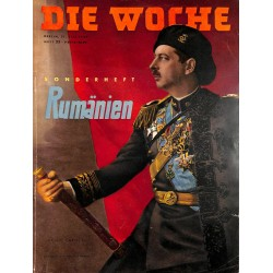 2613	 DIE WOCHE	-No.	25-1939		 WWII magazine - 	Special Romania 	, 72 pages,	,german illustrated magazine, many photos