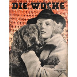 2631	 DIE WOCHE	-No.	33-1938		 WWII magazine - 	Marshall Balbo Italy  in Berlin	, 42 pages,	,german illustrated magazine