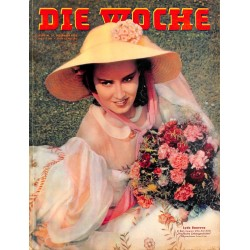 2635	 DIE WOCHE	-No.	38-1938		 WWII magazine - 	Lyda Barova UFA movie star, Zeppelin Graf Zeppelin, Helsinki Olympic Games