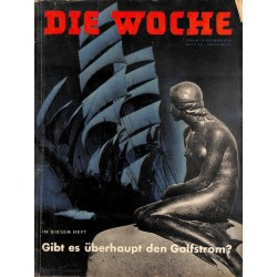 2636	 DIE WOCHE	-No.	50-1938		 WWII magazine - 	Germany's first airplane carrier	, 42 pages,	,german illustrated magazine