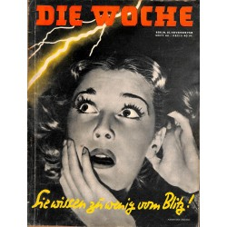 2640	 DIE WOCHE	-No.	48-1938		 WWII magazine - 	first aid, accidents	, 48 pages,	,german illustrated magazine, many photos