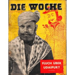 2641	 DIE WOCHE	-No.	47-1938		 WWII magazine - 	Udaipur, Atatürk funeral Turkey	, 42 pages,	,german illustrated magazine