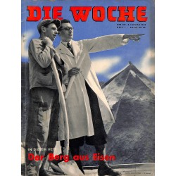 2649 DIE WOCHE-No.1-1939 WWII magazine - WWII, 42 pages,,german illustrated magazine, many photos